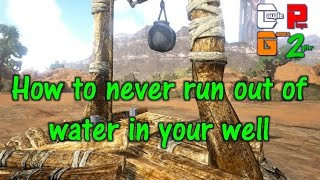 Ark Scorched Earth - NEVER ENDING WATERWELL & ARCHAEOPTERYX - S04E10