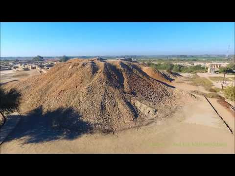 Drone view of Mohenjodaro (The Indus Valley Civilization)
