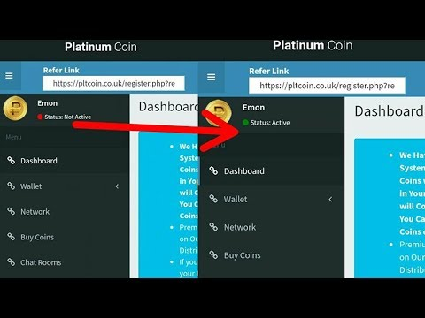 How To Platinum Coin Activates Mining Pool Only 20 Coin