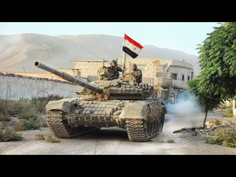 Syrian Civil War. Street Battles. Syrian Arab Army vs. Rebels.