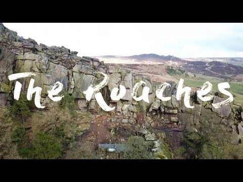 Drone footage of The Roaches (4K)