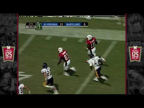 2005 Vernon Davis 73-yd TD Catch - #Terps125