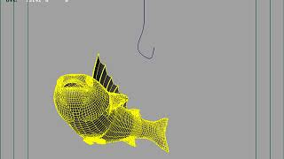 анимация рыбы. рабочие материалы