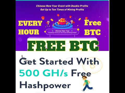 New Free BitCoin Auto Mining Sites Free SignUp 500 GH/S WithOut Any Invesment Free BTC #FreeBTC