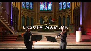 Ursula Mamlok: Sonatina at the Aposel Paulus Kirche Berlin