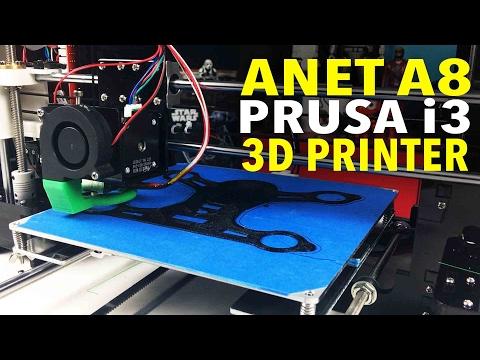 Insanely Cheap 3D Printer: Anet A8 Prusa i3