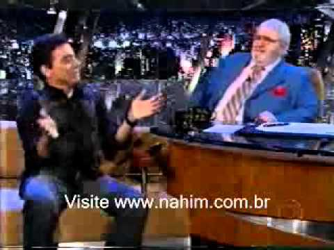 Entrevista do cantor Nahim no Programa do Jô Soares - Segundo Bloco