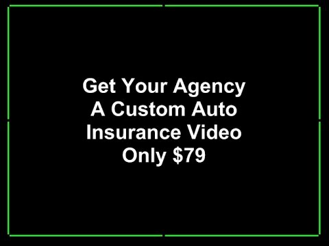 Auto Insurance Agents - Custom Local Video