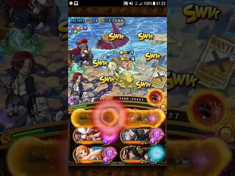 Neo Sabo 60 Stamina Raid - Cerebral - Invasion Shanks/Inuarashi Team [OPTC]