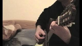 La tendresse (Daniel Guichard) à la guitare