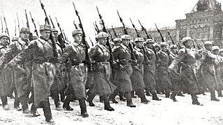 Прямые онлайн-трансляции 75-й годовщины проведения военного парада на Красной площади в 1941 году