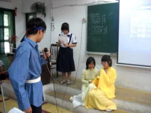 """Kich: """"Luc Van Tien cuu Kieu Nguyet Nga"""" 9a5 Ly TDN 2009 - 2010"""