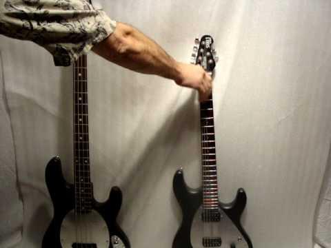 MusicMan Sub Bass and Sub 1 Guitar detailed.mpg