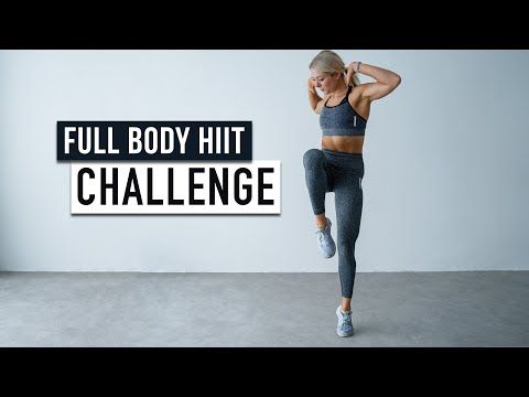 Extreme 40 min HIIT CHALLENGE - Full Body Workout, No Equipment, No Repeat, for advanced