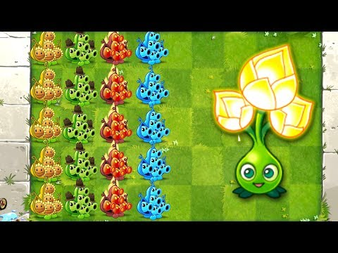 Plants vs Zombies 2 Pea Pod and Epic Quest Gold Bloom in Primal PVZ 2 Gameplay