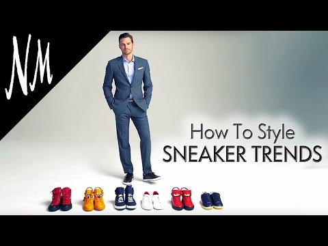 Men's Fashion Trends 2016: How To Style Sneakers | Neiman Marcus