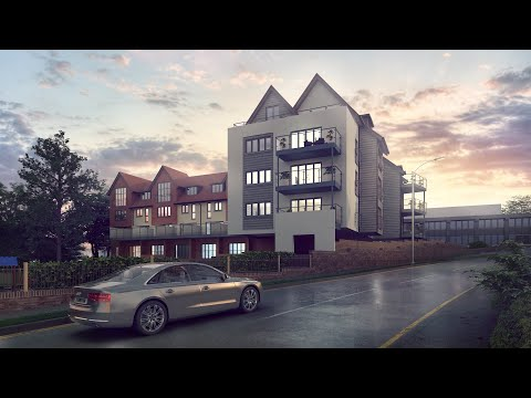 Photoshop Tutorial 01 | Architectural Post production Image | 3ds Max  Vray Elements Using Photoshop