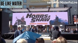 The Rock, Jason Statham & Roman Reigns - Hobbs & Shaw PART 1