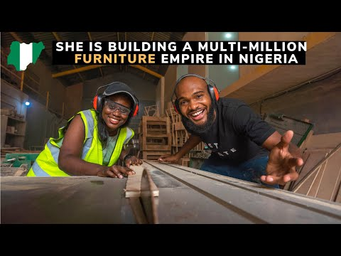 At 26 Years, She owns a Multimillion Dollar Furniture Company in Nigeria.