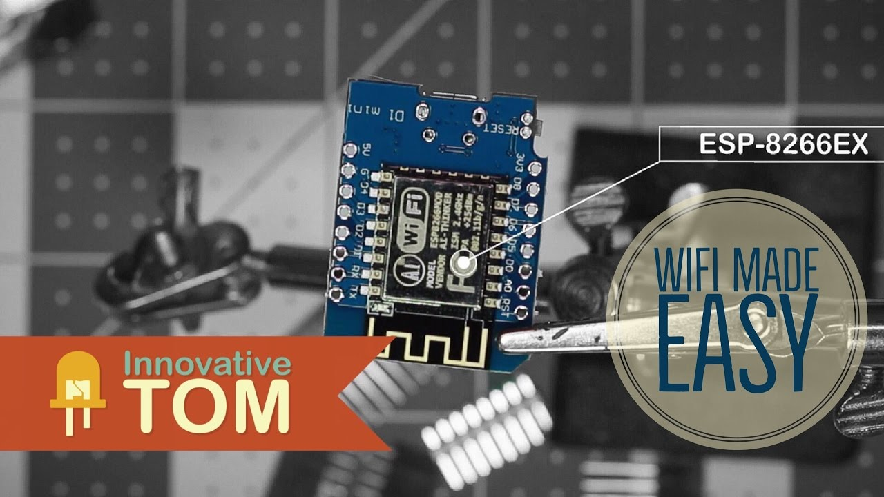 Wemos ESP8266 Getting Started Guide With Arduino IDE: 8