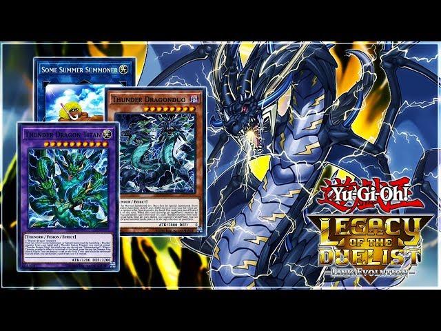 Yu-Gi-Oh! Legacy Of The Duelist: Link Evolution | Thunder Dragon Deck! LIVE Duels & Deck Profile!