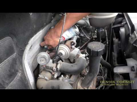 Volkswagen Transporter VW T4 1.9 TD заглушил клапан EGR