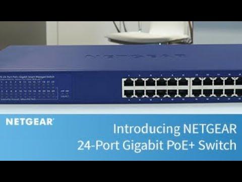 Introducing NETGEAR 24-Port Gigabit PoE+ Switch | Business