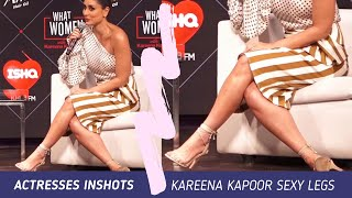 Kareena kapoor in Mini Skirt sitting Crossed Legs | Milky Hot Inner Thighs of Kareena hot edit