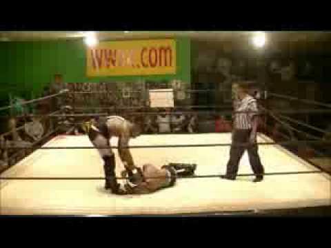 WWA4 INTERNET TITLE  Dynamite Pegasus vs Black Baron