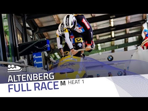 Altenberg | BMW IBSF World Cup 2017/2018 - 2-Man Bobsleigh Heat 1 | IBSF Official