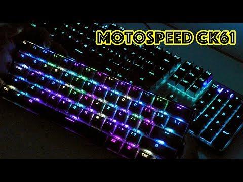 Игровая клавиатура MOTOSPEED CK61 NKRO (Игровой ПК)