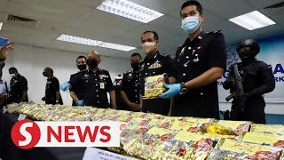 Cops arrest man, seize drugs worth RM6.5mil in Penang
