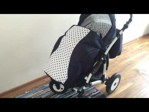Обзор нашей коляски/Indigo Avatar 2in1/Покупки для новорожденного/ Коляска для малыша
