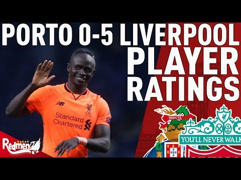 Mane Hattrick, Man of the Match! | Porto v Liverpool 0-5 | Player Ratings
