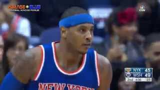 Knicks @ Wizards 10/31/15 Full Game Highlights - MELO GOES GOD-MODE!