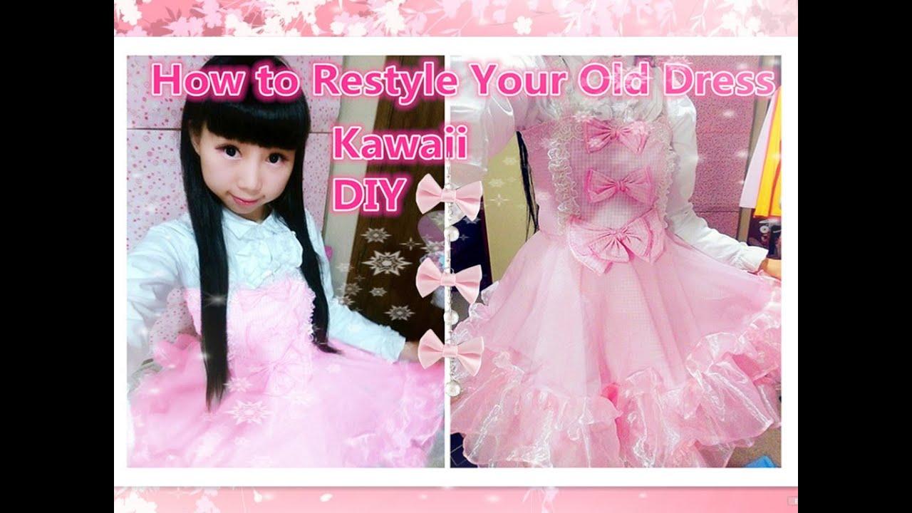 Kawaii DIY - How to Sew Princess Lolita Hime Dress - adorable and ...