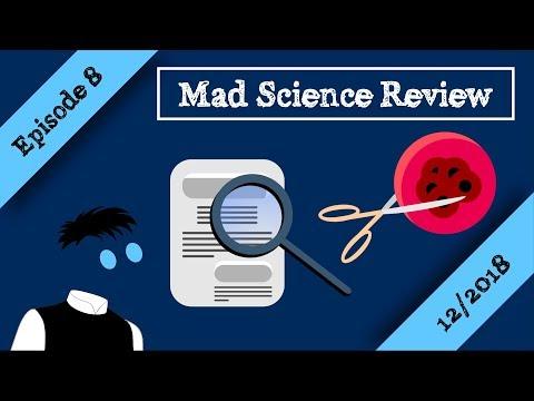 Ογκολόγος προτείνει οξυζενέ για τον καρκίνο, μελέτη για λευχαιμία | Mad Science Review Episode 8