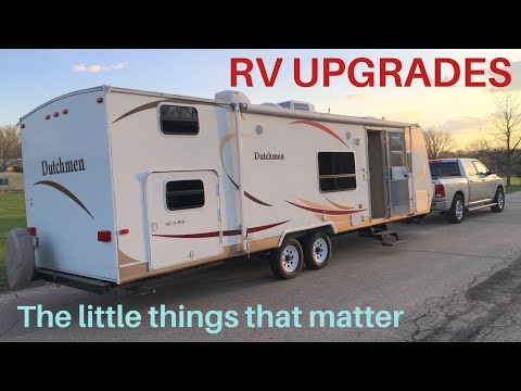RV Upgrades for Renting Your RV, Travel Trailer, Camper on RVshare Outdoorsy