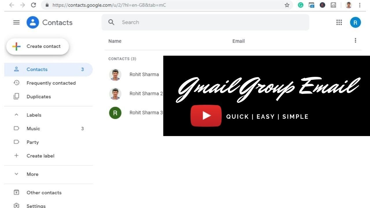 How to Create a Group Email in Gmail: A Step-by-Step Guide