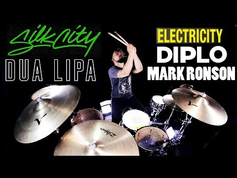Silk City, Dua Lipa - Electricity (Official Video) ft. Diplo, Mark Ronson (Drum Remix)