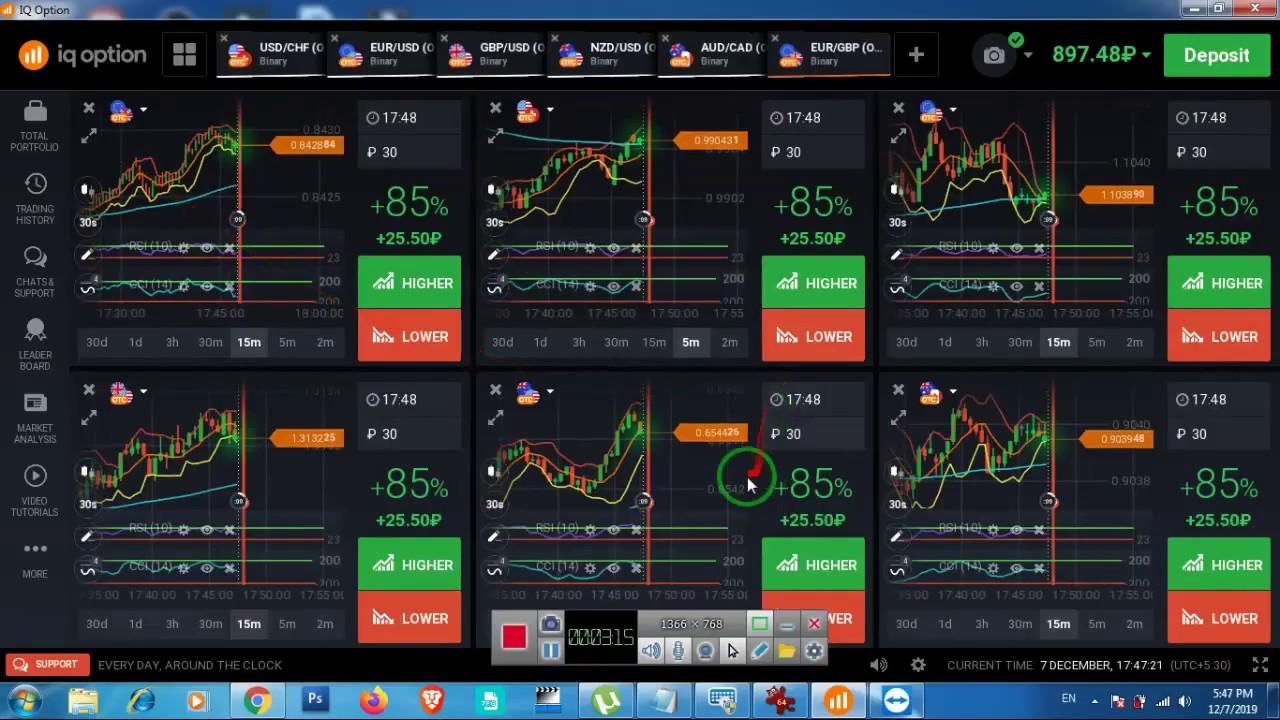 IQ OPTION STRATEGY 2020  කොහොමද manual Trading කරන්නේ කියල...