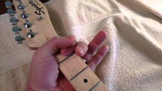 Squire Telecaster Affinity, Narrow Nut.