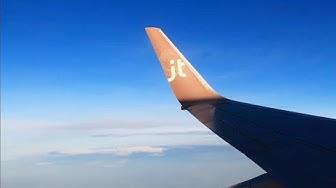 JetTime 737-700 Oslo-Helsinki Deicing, Sunrise Takeoff, Inflight & Landing