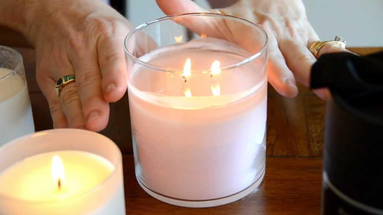 how to burn jar candles youtube