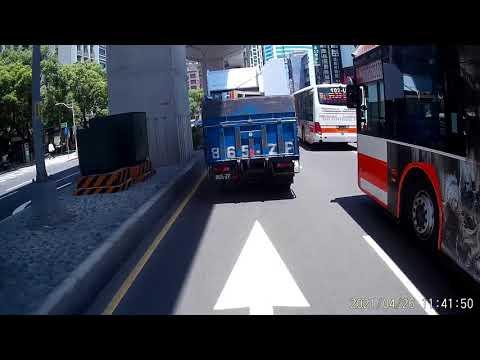 04 26 這樣的道路規劃叫騎車的怎能不違規