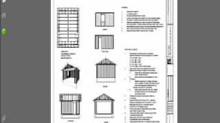 10 Garage Plans $29.99 Rv Workshop Construction Blueprints PDF Download