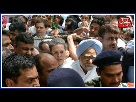 Save Democracy March: Sonia, Rahul, Manmohan Detained By Police
