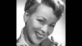 I'd Rather Be (1951) - Evelyn Knight and The Ray Charles Singers Video