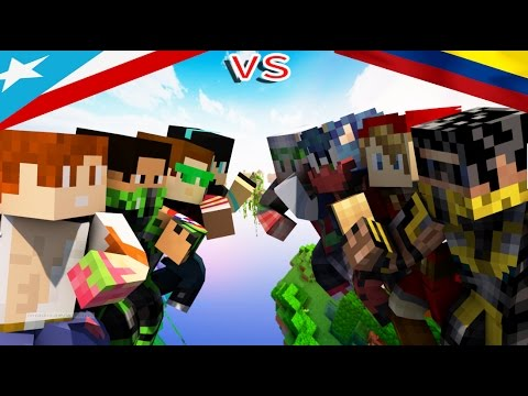 SKYWARS | FINAL NETWORK | COLOMBIA VS PUERTO RICO