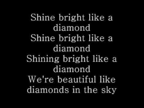 Rihanna - Diamonds [LYRICS]